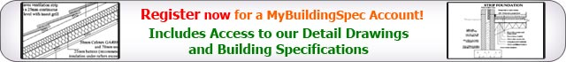 Register for a MyBuildingSpec Account