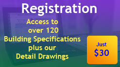 Register for a MyBuildingSpec Account for access to Building Specifications and Detail Drawings